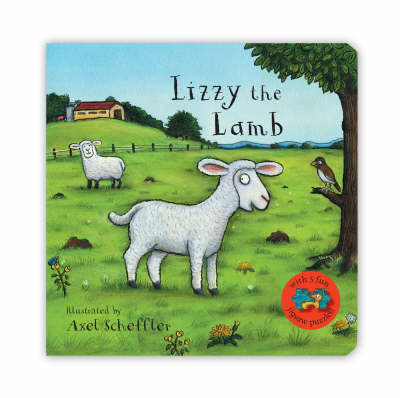 Lizzy the Lamb Jigsaw Book