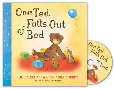 One Ted Falls Out Of Bed Board Book and CD Pack