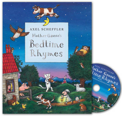 Mother Goose's Bedtime Rhymes Book and CD Pack