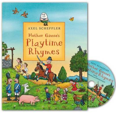 Mother Goose's Playtime Rhymes Book and CD Pack