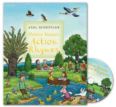 Mother Goose's Action Rhymes Book and CD Pack