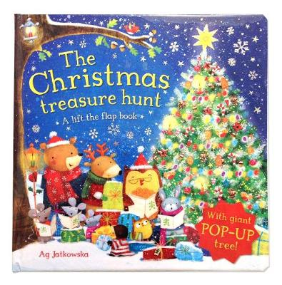 The Christmas Treasure Hunt: A pop-up book