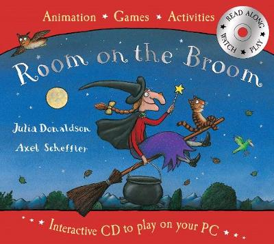 Room on the Book Book and Interactive CD Pack