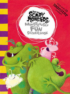 Monstrously Fun Sticker Book