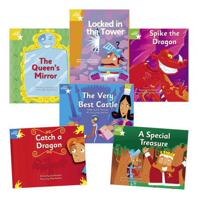 Learn at Home: Clinker Castle Year 1 Pack (6 fiction books)