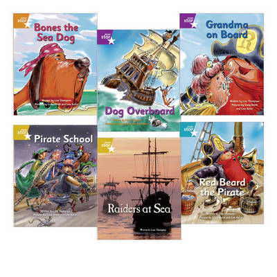 Learn at Home:Pirate Cove Year 2 Pack (6 Fiction Books)