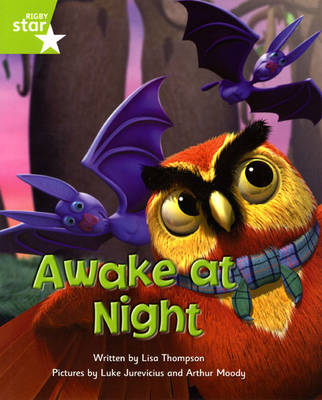 Fantastic Forest Green Level Fiction: Awake at Night