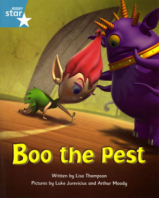 Fantastic Forest Turquoise Level Fiction: Boo the Pest
