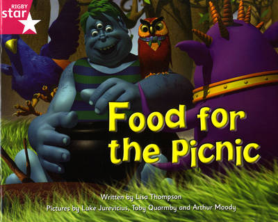 Fantastic Forest Pink Level Fiction: Food for the Picnic