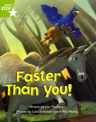 Fantastic Forest: Faster than You! Green Level Fiction (Pack of 6)