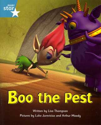 Fantastic Forest: Boo the Pest Turquoise Level Fiction (Pack of 6)