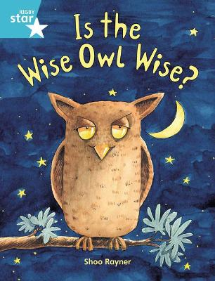 Rigby Star Guided 2, Turquoise Level: Is the Wise Owl Wise? Pupil Book (single)
