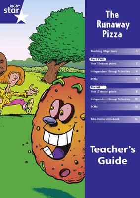 Rigby Star Shared Year 1 Fiction: Runaway Pizza Teachers Guide