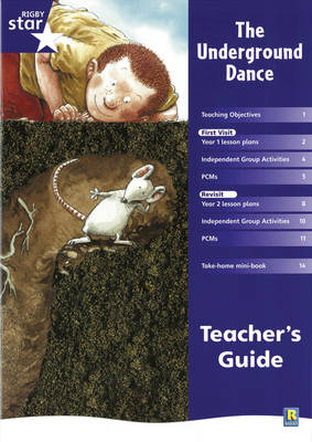 Rigby Star Shared Year 1 Fiction: Underground Dance Teachers Guide