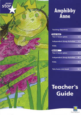 Rigby Star Shared  Year 2 Fiction: Amphibby Anne Teachers Guide