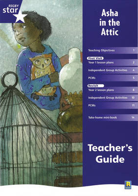Rigby Star Shared Year 2 Fiction: Asha in the Attic Teachers Guide