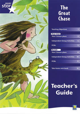 Rigby Star Shared Year 2 Fiction: The Great Chase Teachers Guide