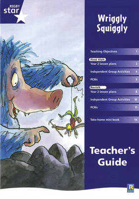 Rigby Star Shared Year 2 Fiction: Wriggly Squiggly Teachers Guide