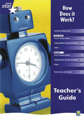Rigby Star Shared Year 2 Non-fiction: How Does it Work? Teachers Guide