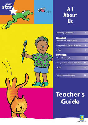 Rigby Star Shared Reception Fiction: All About Us Teachers Guide