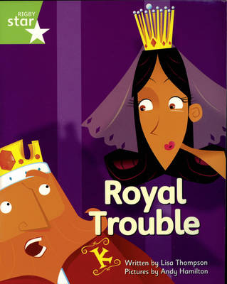 Clinker Castle Green Level Fiction: Royal Trouble Pack of 3: Star Adventures