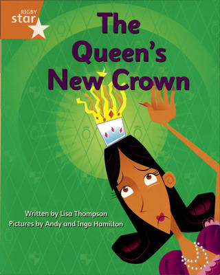 Clinker Castle Orange Level Fiction: The queen's new crown pack of 3: Star adventures