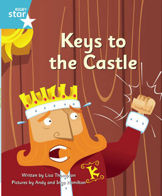Clinker Castle Turquoise Level Fiction: Keys to the Castle Pack of 3: Star Adventures
