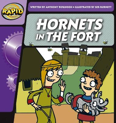 Rapid Phonics Hornets in the Fort Step 2 (Fiction)