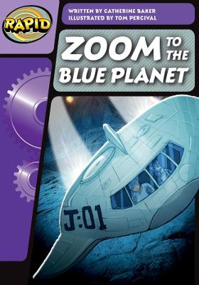 Rapid Phonics Zoom to the Blue Planet! Step 3 (Fiction)