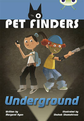 Bug Club Grey A/3A Pet Finders Go Underground 6-pack