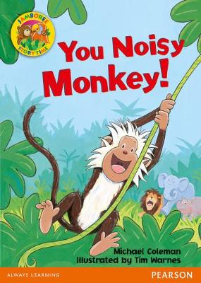 Jamboree Storytime Level B: You Noisy Monkey Big Book
