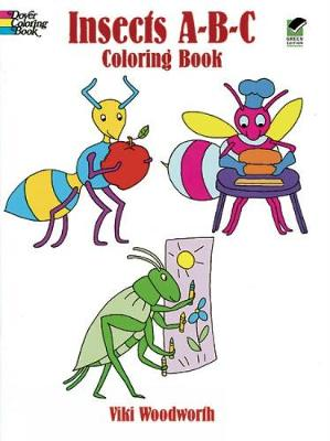 Insects ABC Colouring Book