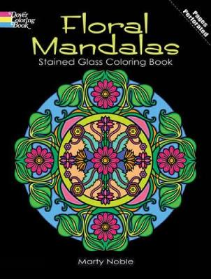 mandalas gemglow stained glass coloring book dover design stained glass coloring book
