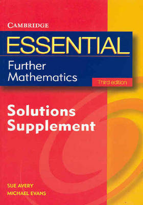Essential Further Mathematics Third Edition Solutions Supplement