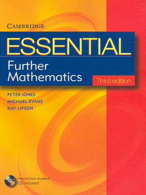 Essential Further Mathematics Third Edition with Student CD-Rom