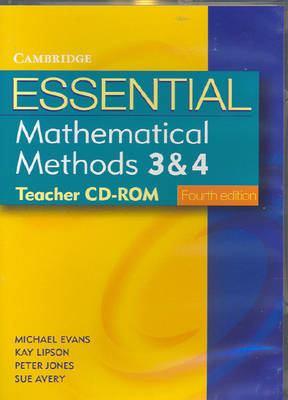 Essential Mathematical Methods 3 and 4 Fourth Edition Teacher CD-Rom