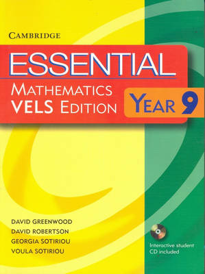 Essential Mathematics VELS Edition Year 9 Pack With Student Book, Student CD and Homework Book