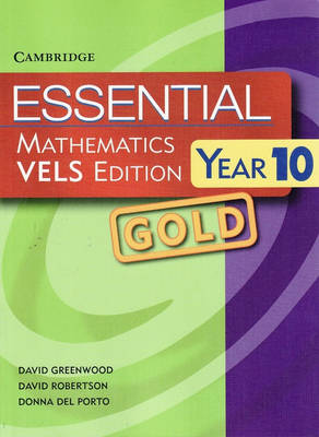 Essential Mathematics VELS Edition Year 10 GOLD