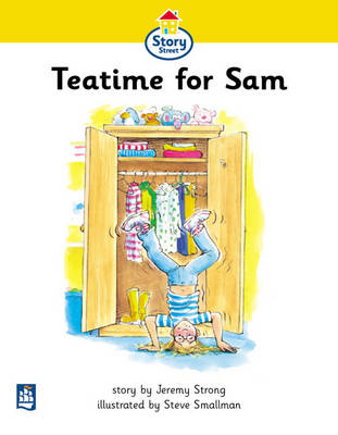 Tea time for Sam Story Street Beginner Stage Step 1 Storybook 1