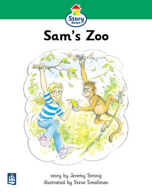 Sam's Zoo Story Street Beginner stage step 3 Storybook 21