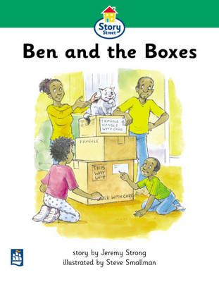 Ben and the Boxes Story Street Beginner stage step 3 Storybook 22