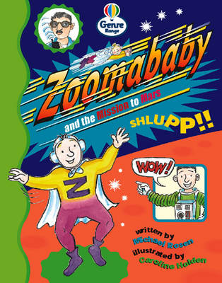 Zoomababy and the Mission to Mars Genre Fluent stage Comics Book 1