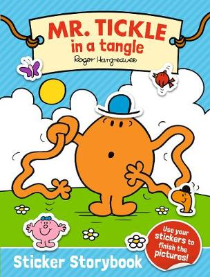Mr. Tickle in a tangle Sticker Storybook