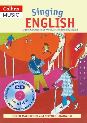 Singing English (Book + CD): 22 Photocopiable Songs and Chants for Learning English