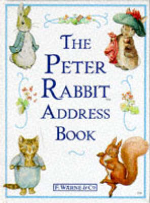 Peter Rabbit Address Book