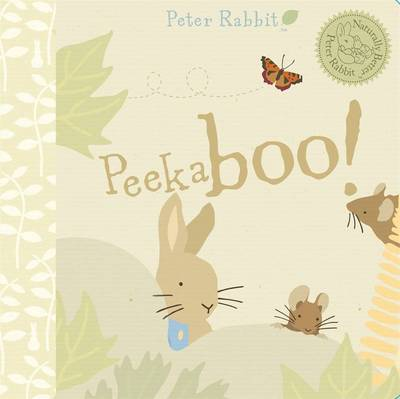 Peter Rabbit Naturally Better Peekaboo Peter