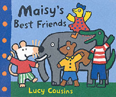 Maisy's Best Friends Shaped Board Book