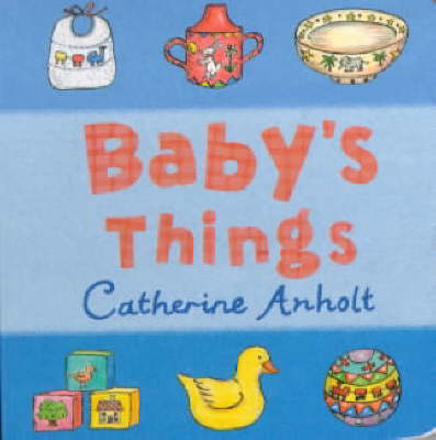 Baby's Things Chunky Board Book