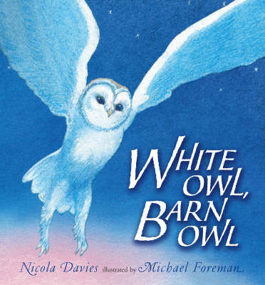 White Owl, Barn Owl Pbk With Cd