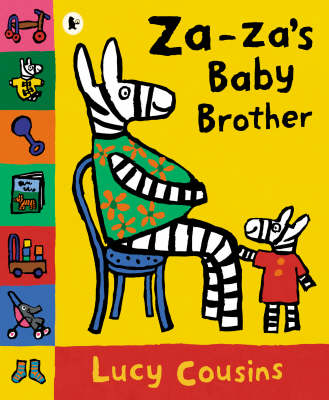 Za Za's Baby Brother Board Book